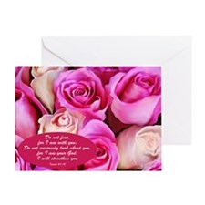"""""""Do Not Fear"""" Isaiah 41:10 Greeting Card"""