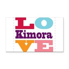 I Love Kimora Rectangle Car Magnet