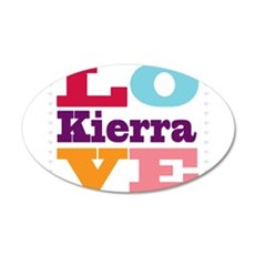 I Love Kierra Wall Decal