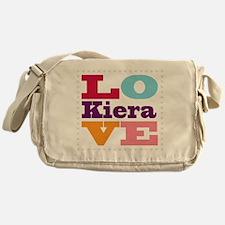 I Love Kiera Messenger Bag