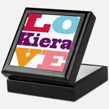 I Love Kiera Keepsake Box