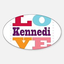 I Love Kennedi Decal