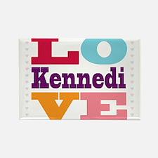 I Love Kennedi Rectangle Magnet