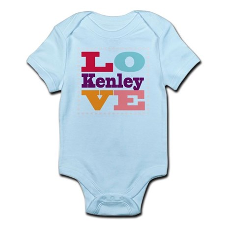 I Love Kenley Infant Bodysuit