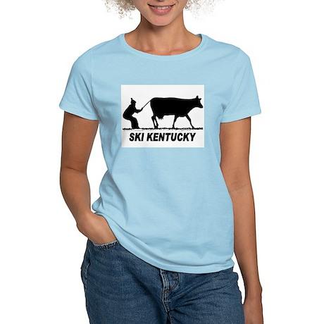 The Ski Kentucky Shop Women's Pink T-Shirt