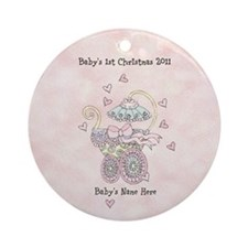 Baby Girl Ornament you can Personalize Yourself