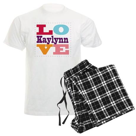 I Love Kaylynn Men's Light Pajamas