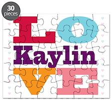 I Love Kaylin Puzzle