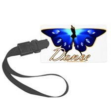 Butterfly Dance Luggage Tag