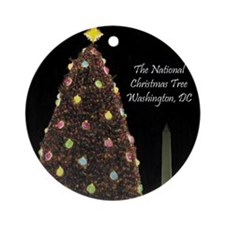 Cute National holidays Ornament (Round)