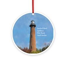 Unique Coastal Ornament (Round)
