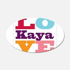I Love Kaya Wall Decal