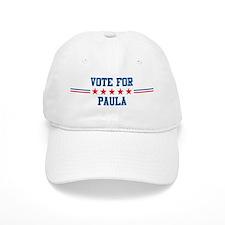 Vote for PAULA Baseball Cap