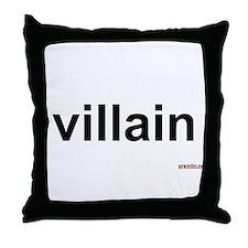 villain Throw Pillow