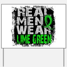 Real Men NH Lymphoma Yard Sign