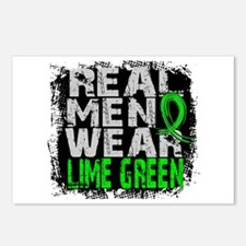 Real Men NH Lymphoma Postcards (Package of 8)