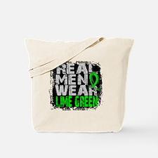 Real Men NH Lymphoma Tote Bag