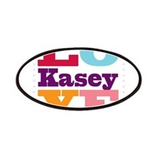 I Love Kasey Patches
