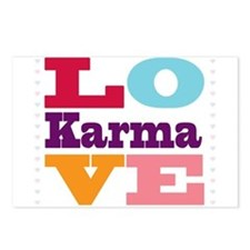 I Love Karma Postcards (Package of 8)