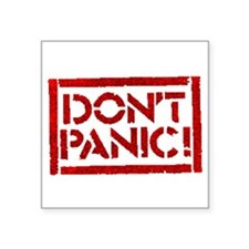 Hitchhiker - Don't Panic! Sticker