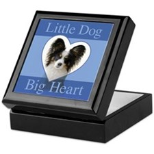 Little Dog Big Heart Keepsake Box