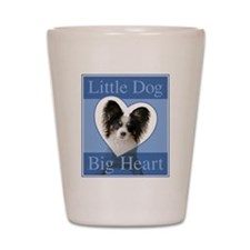 Little Dog Big Heart Shot Glass
