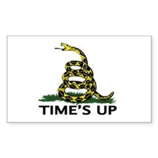 TIMES UP Decal