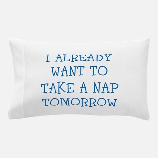 Funny Sleepy Joke Pillow Case