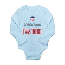 I Was There: Long Sleeve Infant Bodysuit