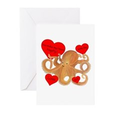Happy Octopus Greeting Cards (Pk of 20)