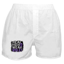 Real Men Hodgkins Lymphoma Boxer Shorts