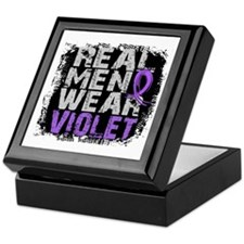 Real Men Hodgkins Lymphoma Keepsake Box