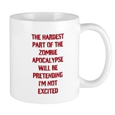 Funny Zombie Apocalypse Mug