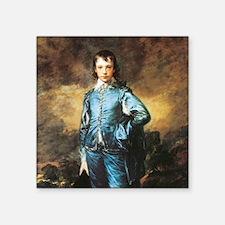 "Thomas Gainsborough The Blue Boy Square Sticker 3"""