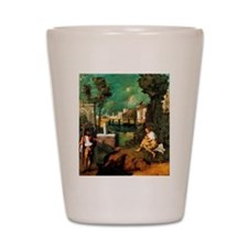 Giorgione The Tempest Shot Glass