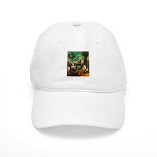 Giorgione The Tempest Baseball Cap