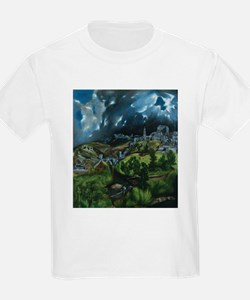 El Greco View of Toledo T-Shirt