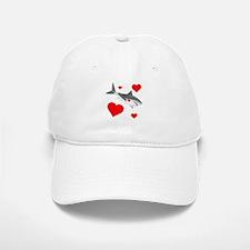 Shark Valentine Baseball Baseball Cap