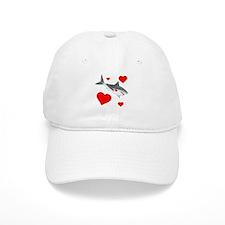 Shark Valentine Baseball Cap
