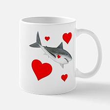 Shark Valentine Mug