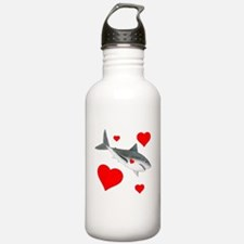 Shark Valentine Water Bottle