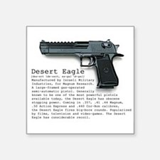 "Desert Eagle Square Sticker 3"" x 3"""