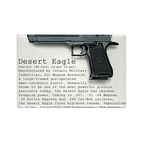 Desert Eagle Rectangle Magnet