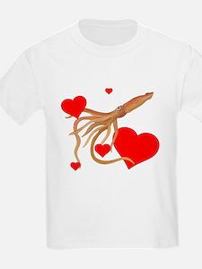 Valentine Squid T-Shirt