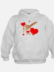 Valentine Squid Hoodie