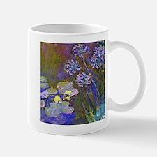 Claude Monet Lilies and Agapanthus Mug
