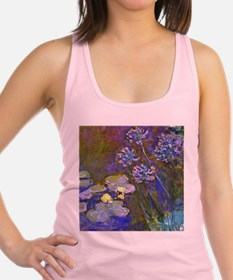 Lilies and Agapanthus Racerback Tank Top