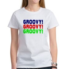 GROOVY - RED BLUE GREEN! Tee