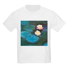 Claude Monet Waterlilies T-Shirt