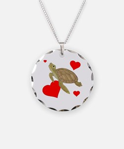 Valentine Turtle Necklace